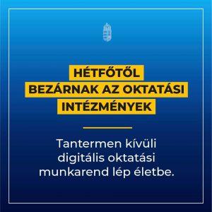 Digitális oktatás kezdete
